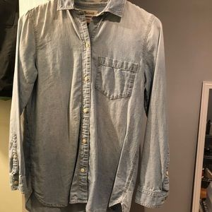 Madewell classic chambray